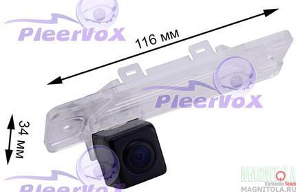 Камера заднего вида для автомобилей Infinity Q45, FX35, FX45, I30, I35, M series Pleervox PLV-CAM-INF02
