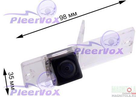 Камера заднего вида для автомобилей Mitsubishi Pajero III, IV Pleervox PLV-CAM-MIT01B