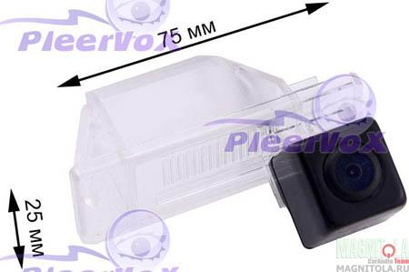 Камера заднего вида для автомобилей Nissan Qashkai,Patrol 10-, X-trail, Juke, Note Pleervox PLV-CAM-NISQ