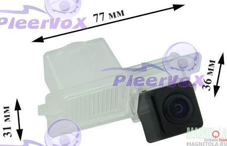 Камера заднего вида для автомобилей SsangYong Actyon, Actyon Sport, Cyron, Rexton Pleervox PLV-AVG-SSY01