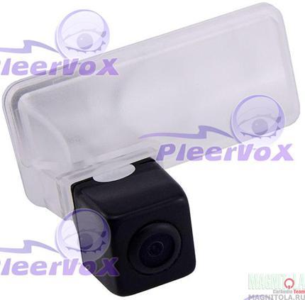 Камера заднего вида для автомобилей Subaru Forester 13- Pleervox PLV-CAM-SUB05