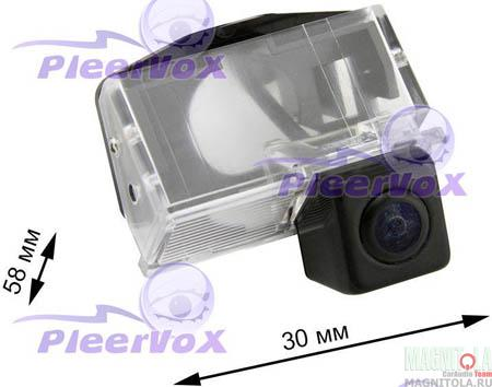 Камера заднего вида для автомобилей Toyota Corolla E12 (2001-2006) Pleervox PLV-CAM-TYC12