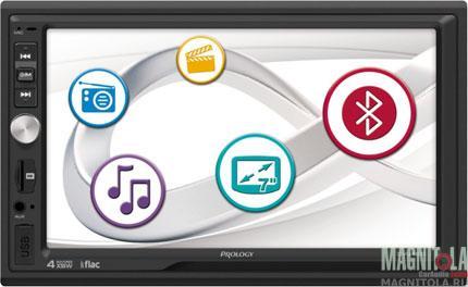 2DIN мультимедийный бездисковый ресивер Prology DVU-800