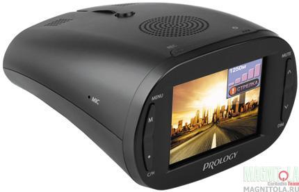 Автомобильный видеорегистратор с радар-детектором Prology iOne-1000