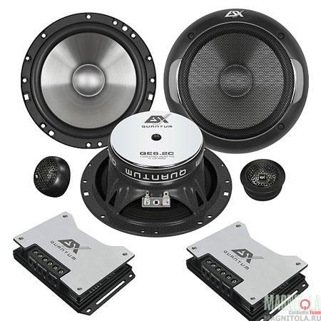 компонентная акустика ESX QE6.2c