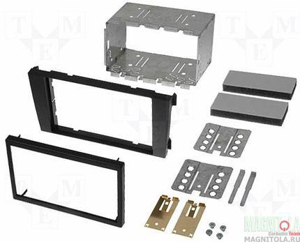 Переходная рамка 2DIN для автомобилей Audi A-6 02+, Allroad INTRO RAU6-03