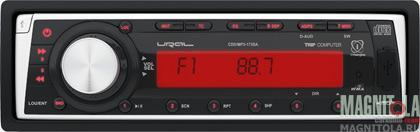 CD/MP3-ресивер с USB и возможностью подключения маршрутного компьютера URAL CDD/MP3-173SA Red.