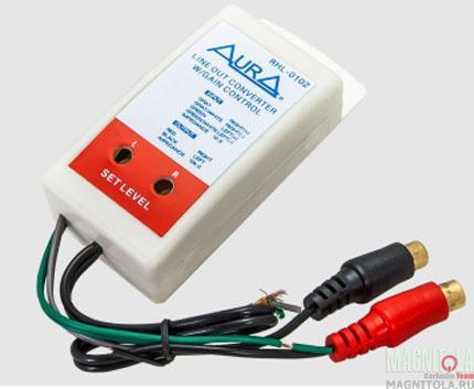 RCA-адаптер высокого уровня AURA RHL-0102
