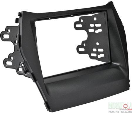 Переходная рамка 2DIN для автомобилей Hyundai Santa Fe 2012+ INTRO RHY-N41A