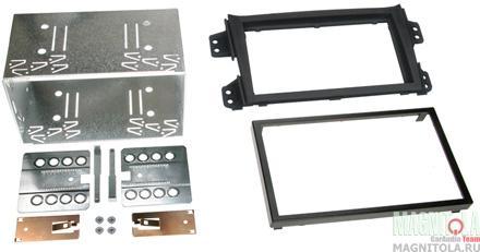 Переходная рамка 2DIN для автомобилей Opel Agila (FXB22/FXB32) 08+ (салазки) INTRO ROP-N12