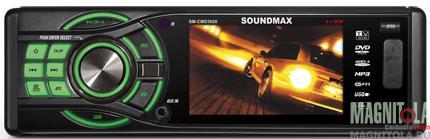 DVD-ресивер со встроенным ЖК-дисплеем Soundmax SM-CMD3020
