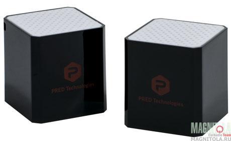 Портативные колонки с функцией Bluetooth гарнитуры AVEL Smart Cube Stereo