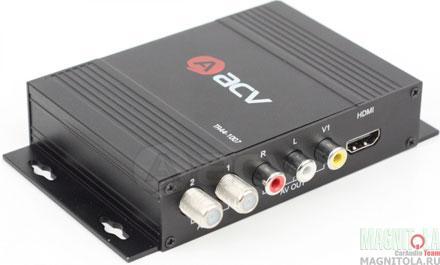 Цифровой TV-тюнер с функцией медиаплеера ACV TR44-1007