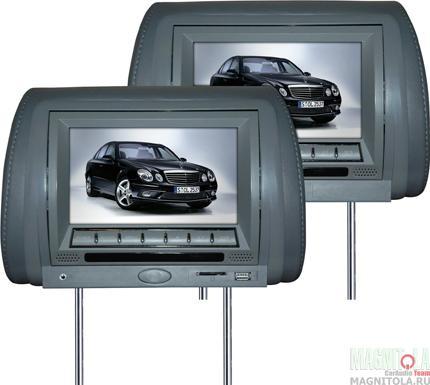 Комплект подголовников со встроенным DVD-проигрывателем и монитором Velas V-HM7g
