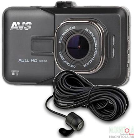 Автомобильный видеорегистратор AVS VR-202DUAL