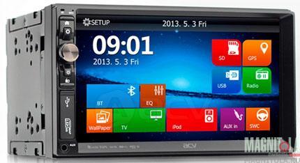 2DIN мультимедийный центр с навигацией и поддержкой Bluetooth ACV WD-7151S