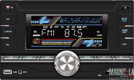 2DIN CD/MP3-ресивер с USB SWAT WX-212UBW