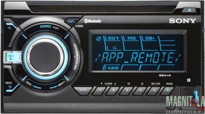 2DIN CD/MP3-ресивер с USB и поддержкой Bluetooth Sony WX-GT90BT