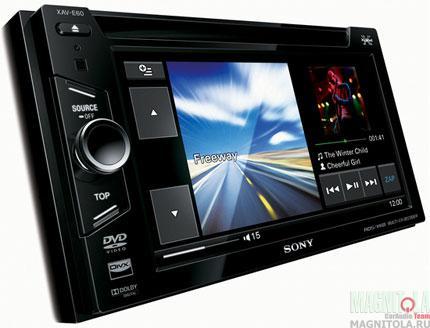 2DIN мультимедийный центр Sony XAV-E60