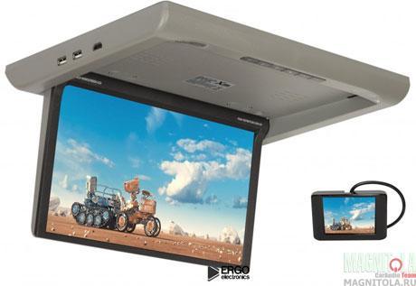 Потолочный монитор со встроенным медиаплеером XM XM-1360RDUD grey