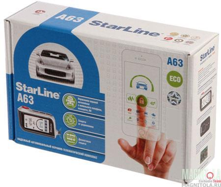 Автомобильная сигнализация StarLine A63 Eco