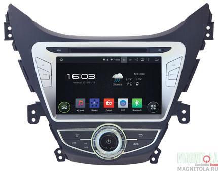 Мультимедийная система для штатной установки, с навигацией для Hyundai Elantra 2013+ INCAR AHR-2464