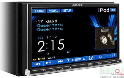 2DIN мультимедийный центр Alpine IVA-W502R