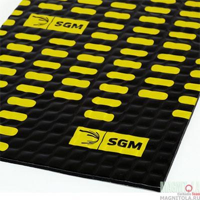 Вибродемпфирующий материал SGM Алюмаст Альфа (М3Ф) (0,5х0,8)