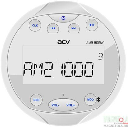 Морская магнитола ACV AMR-801RW
