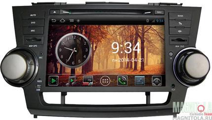 Мультимедийная система для штатной установки, с навигацией для Toyota Highlander (2007-2013) MyDean AND3035