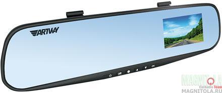 Зеркало заднего вида со встроенным видеорегистратором Artway AV-610