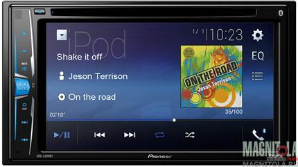 2DIN мультимедийный центр с поддержкой Bluetooth Pioneer AVH-A200BT