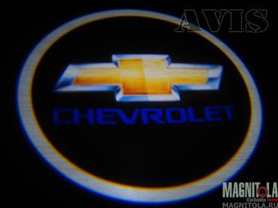 Светодиодный проектор логотипа для Chevrolet AVIS AVS01LED