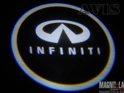 Светодиодный проектор логотипа для Infinity AVIS AVS01LED