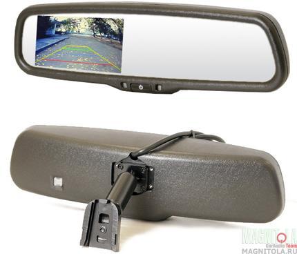 Зеркало заднего вида со встроенным монитором AVIS AVS0410BM