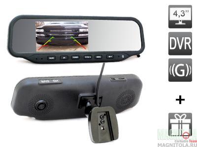 Авторегистраторы в зеркале заднего вида описание видеорегистратор антирадар зеркало заднего вида