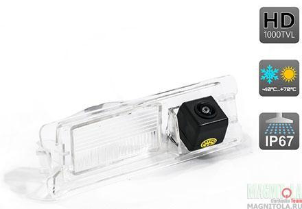 Камера заднего вида для автомобилей RENAULT LOGAN / SANDERO / NISSAN MICRA AVEL AVS327CPR (067)