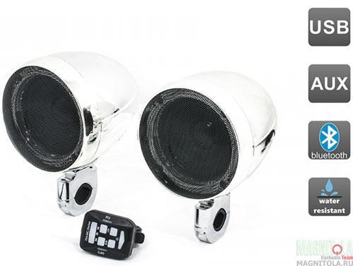 Аудиосистема для мотоцикла AVEL AVS350MP chrome