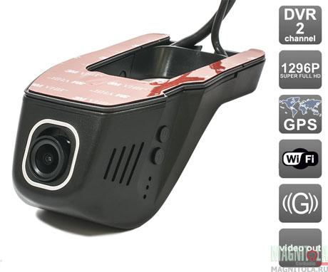 Автомобильный видеорегистратор скрытой установки с GPS AVIS AVS400DVR (106 Universal)
