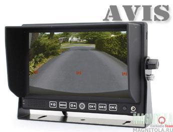 Парковочный монитор для грузовиков и автобусов AVIS AVS4714BM