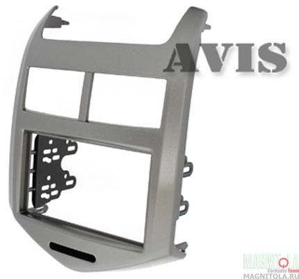 Переходная рамка 2DIN для автомобилей Chevrolet Aveo (2011-...) AVIS AVS500FR (010)