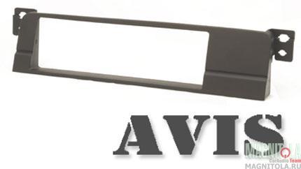 Переходная рамка 1DIN для автомобилей BMW 3 (E46 в комплектации без штатной навигации) AVIS AVS500FR (005)