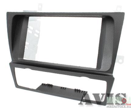 Переходная рамка 2DIN для автомобилей BMW 3 (E90, E91, E92, E93 в комплектации без штатной навигации) AVIS AVS500FR (006)