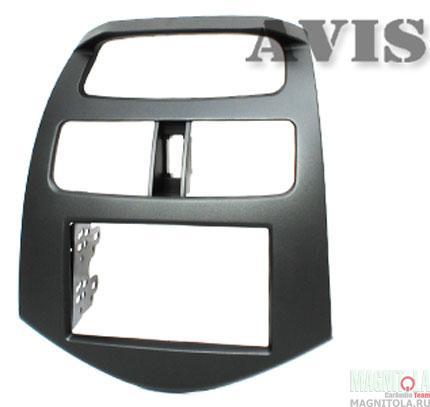 Переходная рамка 2DIN для автомобилей Chevrolet Spark III (2009-...) AVIS AVS500FR (014)