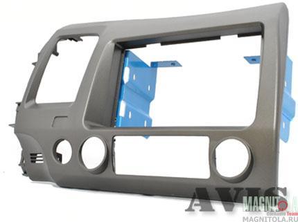 Переходная рамка 2DIN для автомобилей Honda Civic 8 (седан) AVIS AVS500FR (029)