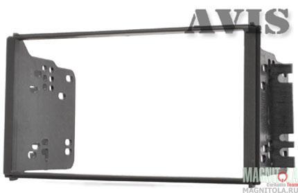 Переходная рамка 2DIN для автомобилей Kia Sorento II / RIO I (2002-2005) AVIS AVS500FR (065)