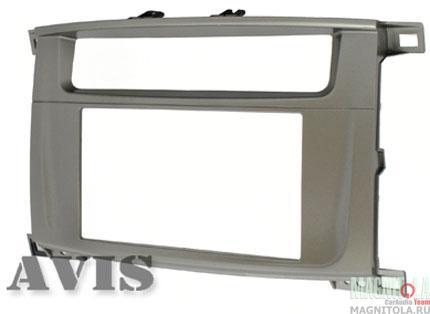 Переходная рамка 2DIN для автомобилей Toyota Land Cruiser 100 AVIS AVS500FR (135)