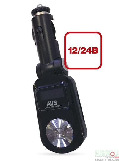 MP3-плеер с FM-трансмиттером AVS F-525(черный)