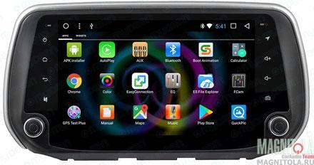 Мультимедийная система для штатной установки для Hyundai Santa Fe (2018-) MyDean B802