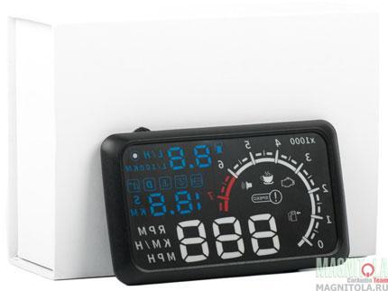 Бортовой компьютер с проекцией параметров на лобовое стекло Blackview Boardcom OBD2